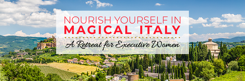 Nourish Yourself in Magical Italy